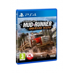 Gra na konsolę PS4 SPINTIRES: MUD RUNNER AMERICAN WILDS EDITION
