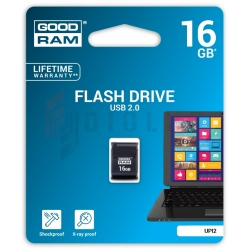 Pendrive Goodram Piccolo USB 2.0 16 GB czarny